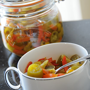 Mixed Peppers in Oil
